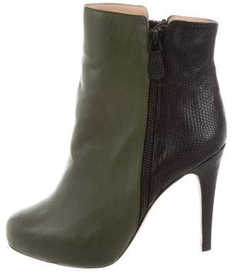 Chrissie Morris Leather Ankle Boots w/ Tags