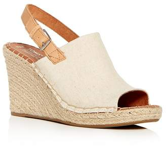 Toms Women's Monica Slingback Espadrille Wedge Sandals