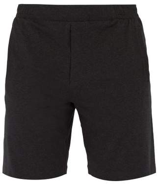 Hamilton And Hare - Jersey Pyjama Shorts - Mens - Grey