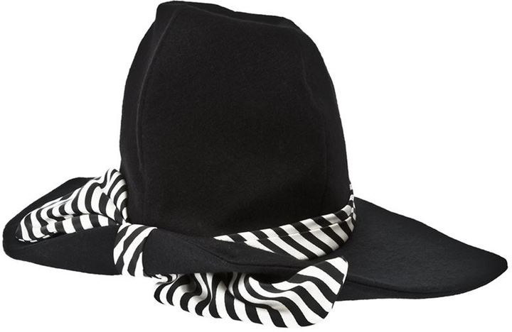 Rewind Vintage Affairs 1960s ribbon tie hat