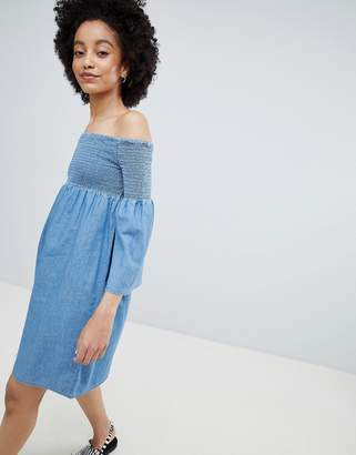 Only Denim Smock Dress