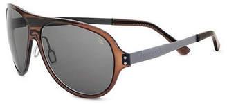 Serengeti Sunglasses Genus: Alice / Frame: C Mal Dark Brown Lens: Polar Phd Cpg