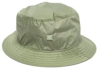 Acne Studios Buk Face Nylon Bucket Hat - Mens - Green