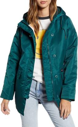 Obey Foxtrot Water Resistant Parka