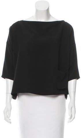 Balenciaga Balenciaga Oversize Long Sleeve Top