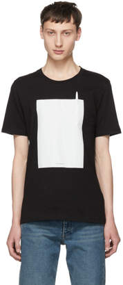 Maison Margiela Black Leave A Message T-Shirt