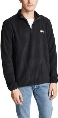 Stussy Polar Fleece Half Zip Pullover