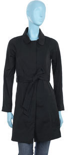 Theory Britini Trench- Black