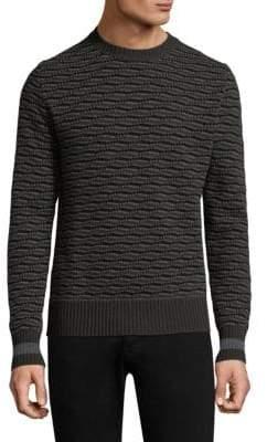 Tomas Maier Geometric Cashmere Sweater