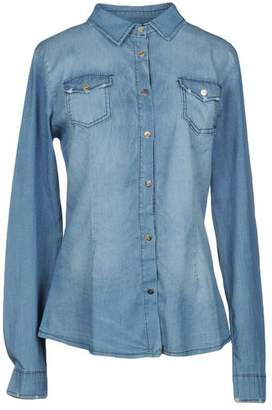 Peacock Blue Denim shirt