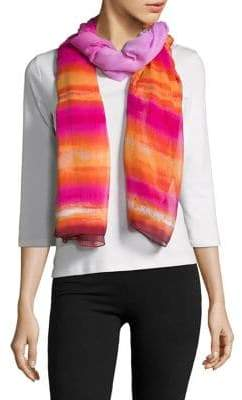 Collection 18 Woven Striped Scarf