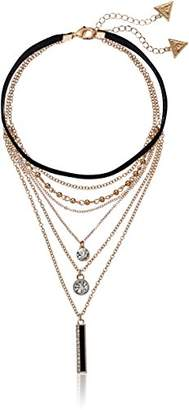 GUESS Fashionably Tort Duo Multilayer Choker Necklace