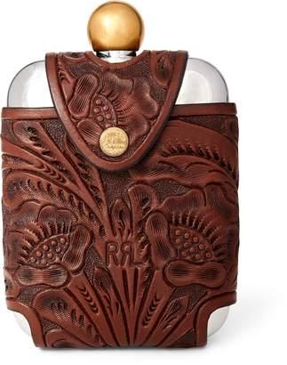Ralph Lauren Hip Flask & Leather Case