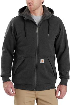 Carhartt Rain Defender Rockland Sherpa Lined Full-Zip Hoodie - Men's
