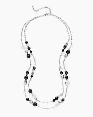 Crystal Double-Strand Necklace