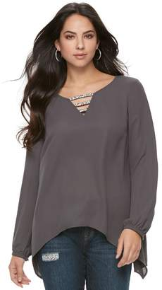 Juicy Couture Women's Strappy Embellished Top