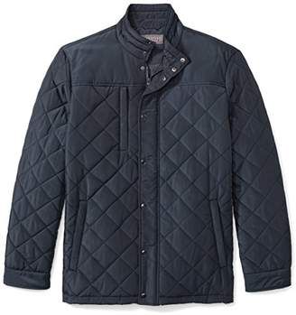 The Plus Project Men's Plus Size Water Resistant Quilted Barn Jacket 3X-Large