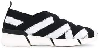 Stella McCartney slip-on woven sneakers