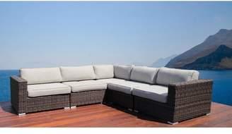 Latitude Run Nolen Resort Grade Patio Sectional with Cushions