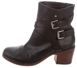 Belle by Sigerson Morrison Leather Ankle Boots