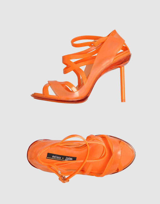 MELISSA + JEAN PAUL GAULTIER High-heeled sandals