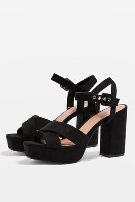 Topshop STELLAR Two Part Platforms