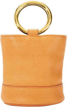 Simon Miller Bonsai Gold Mini Bucket Bag