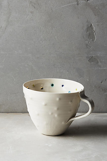 Anthropologie Anthropologie Confetti Dot Mug