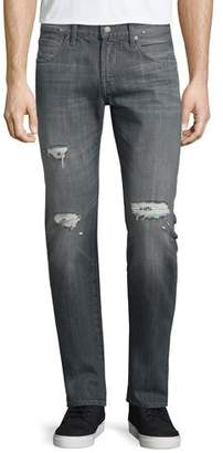 7 For All Mankind Paxtyn Destroyed Denim Jeans, Axim
