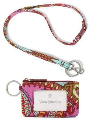 Vera Bradley Resort Medallion Lanyard/zip-Id