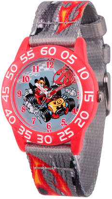 DISNEY MICKEY MOUSE Disney Mickey Mouse Boys Gray Strap Watch-Wds000215