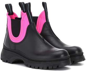 Prada Exclusive to Mytheresa – leather ankle boots