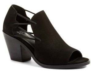 Women's Eileen Fisher Nikki Peep Toe Sandal $235 thestylecure.com