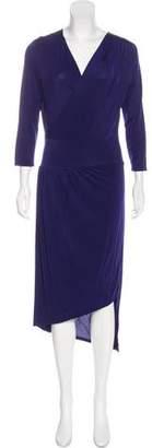Robert Rodriguez Long Sleeve Midi Dress