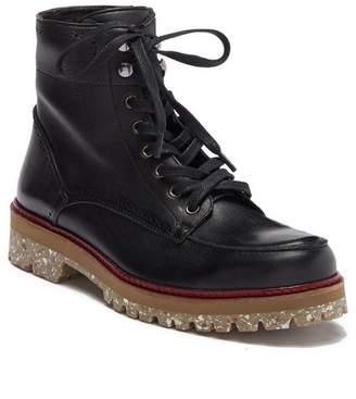 Donald J Pliner Larz Leather Logger Lug Boot