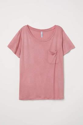 H&M Jersey Top - Dark vintage pink - Women