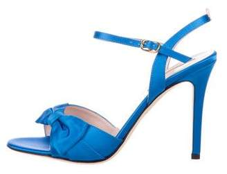 Sarah Jessica Parker Satin Bow Sandals w/ Tags