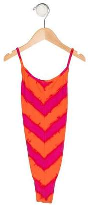 Ralph Lauren Girls' Printed Swimsuit w/ Tags