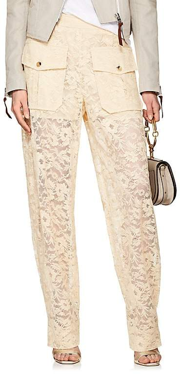 Women's Floral-Lace Baggy Trousers
