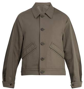 Wooyoungmi Pintucked detail cotton jacket