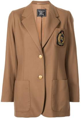Burberry Pre-Owned badge detail jacket