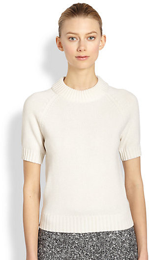Michael Kors Cashmere Raglan Knit Top