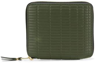 Comme des Garcons textured compact wallet