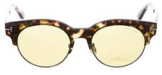 Tom Ford Henri Round Sunglasses