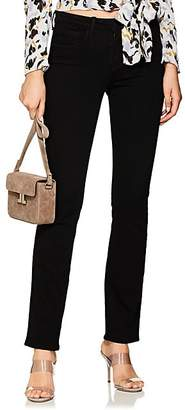L'Agence Women's Selah Straight Jeans - Black