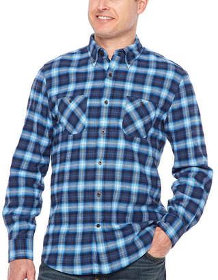 M·A·C Big Mac Long Sleeve Flannel Shirt-Tall