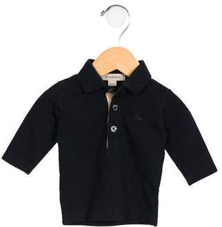 Burberry Boys' Long Sleeve Polo Shirt