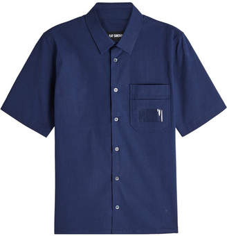 Raf Simons Short Sleeved Cotton Shirt