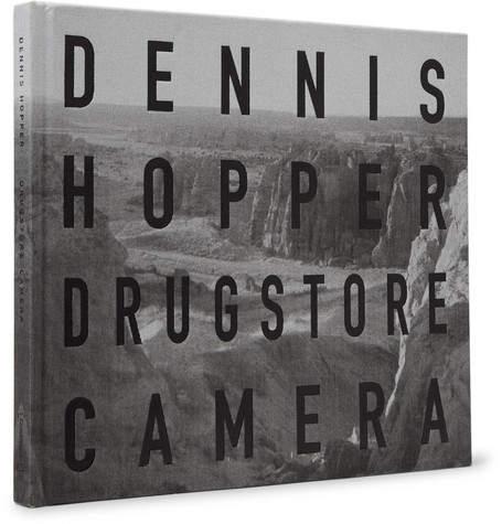 Dennis Hopper: Drugstore Camera Signed Hardcover Book
