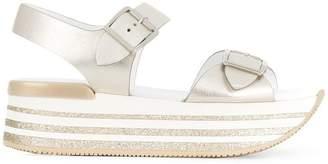Hogan platform sandals